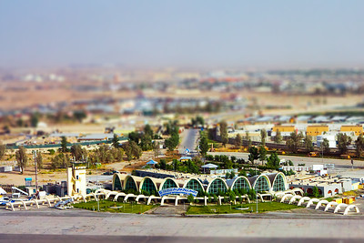 Kandahar International Airport in Miniature