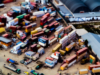 Miniature Container Yard