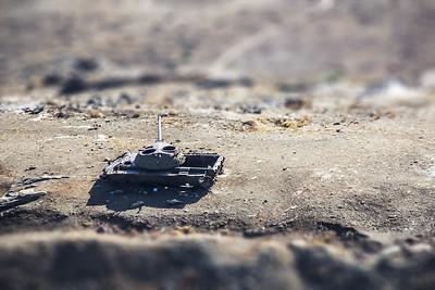 Soviet T-72 Tank