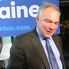 Tim Kaine At Meeting With Leaders For 'Stay Work Play' In Portsmouth, NH