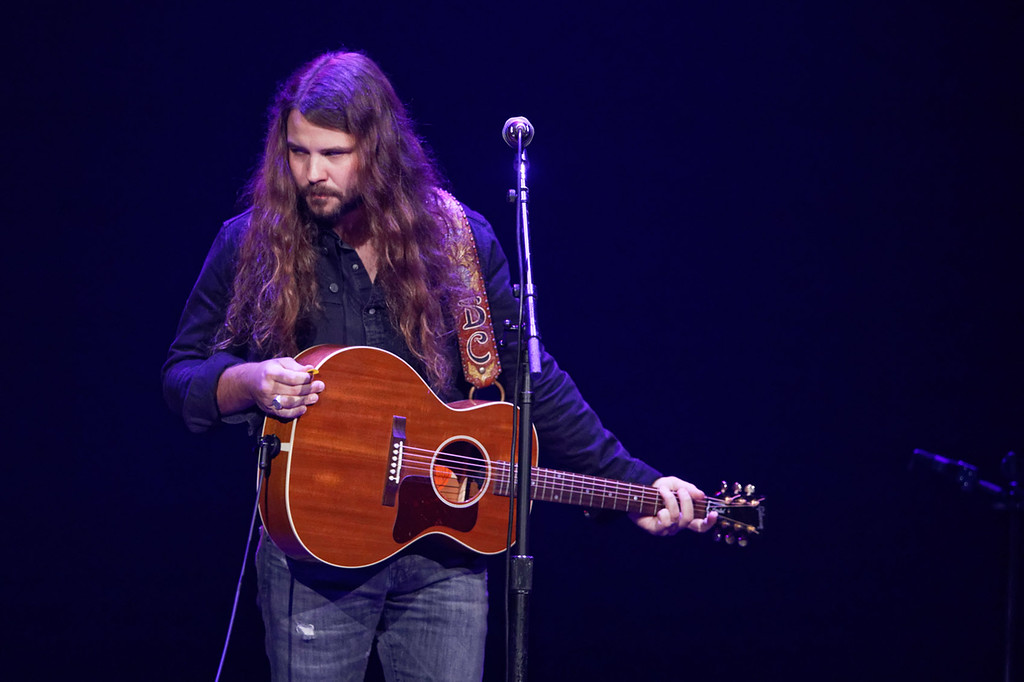 . Brent Cobb  live at The Palace on 9-8-17. Photo  credit: Ken Settle