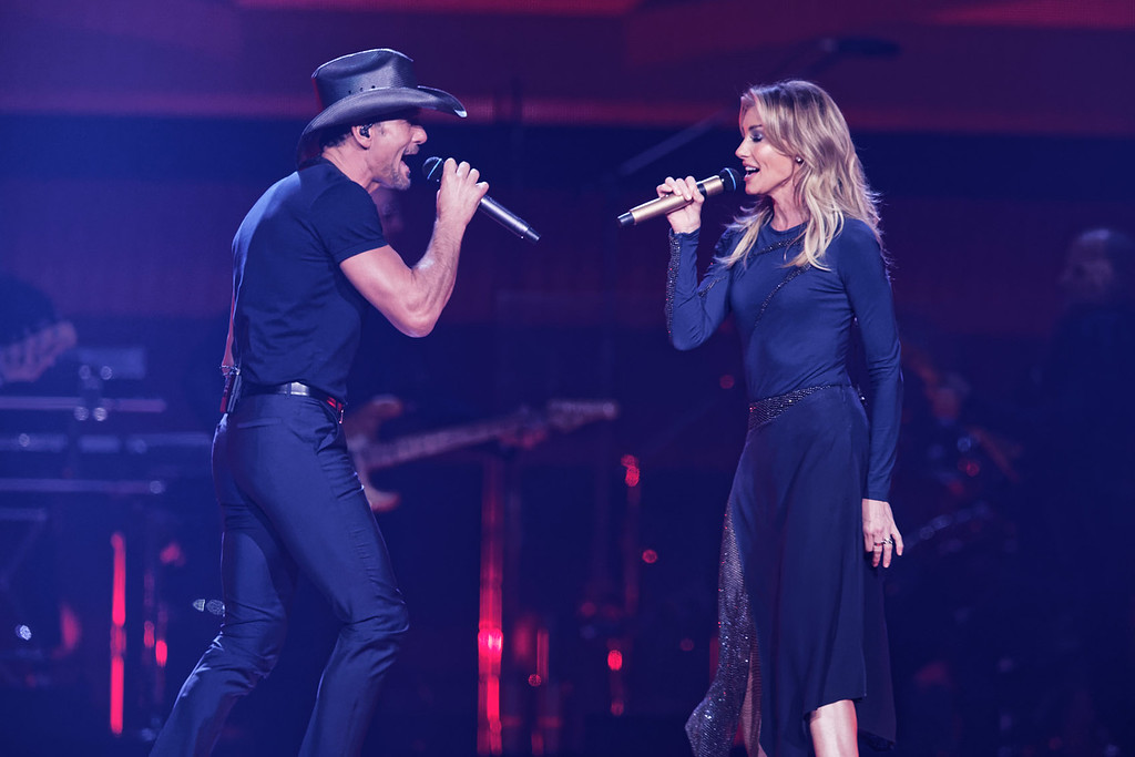 . Tim McGraw and Faith Hill  live at The Palace on 9-8-17. Photo  credit: Ken Settle