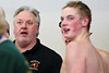 BHS Boys Swimming Coach Tim McInnis, 2012