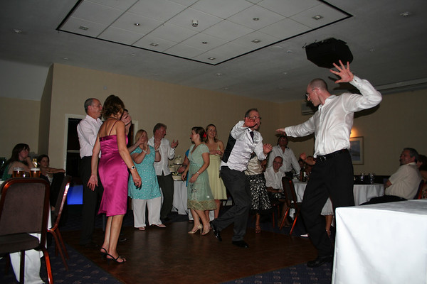Jo's dad and I may have got a little <i>too</i> into the dancing.