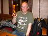 Pic by Liz <br /> <br /> Ghost Station Man in Cottons Rhum Shack Camden samplin the Rum