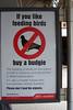 Northern trains anti bird feeding policy