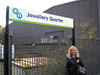 10p Permit to travel got us to Jewellery Quarter ok so just had to have Liz pose
