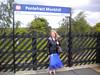 16th June 2011 <br /> <br /> Pontefract Monkhill <br /> <br /> Liz surveys Monkhill