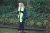 7th Dec 2009 <br /> <br /> Nunthorpe <br /> <br /> Liz at Nunthorpe waiting <br /> <br /> for the 37's<br /> <br />  on 3S10 Carlisle to Nunthorpe RHTT train