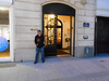Pic by Liz <br /> <br /> Ghost Station Man outside the Athenaeum