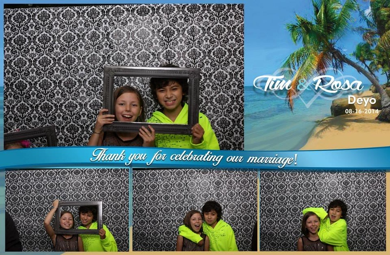 Tim and Rosalie's wedding