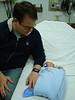 Tim mit Papa im ER