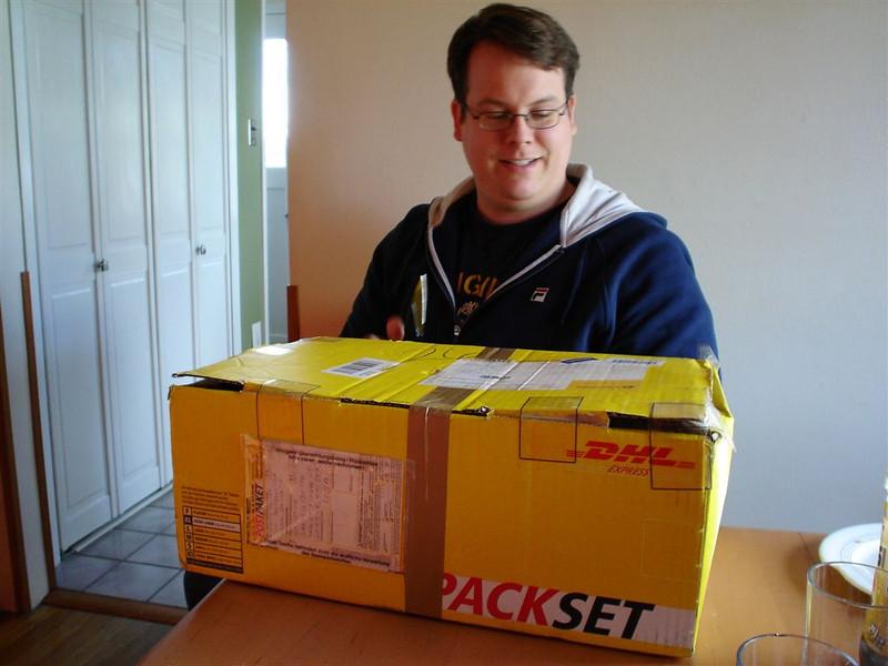 Marco vor dem PackSet