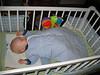 Glückliches Schlafekind