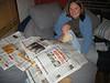 Abendzeitung lesen mit Mama
