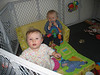 Olivia (2 Tage älter als Tim) und Tim