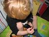Timmy mit seinem iPod