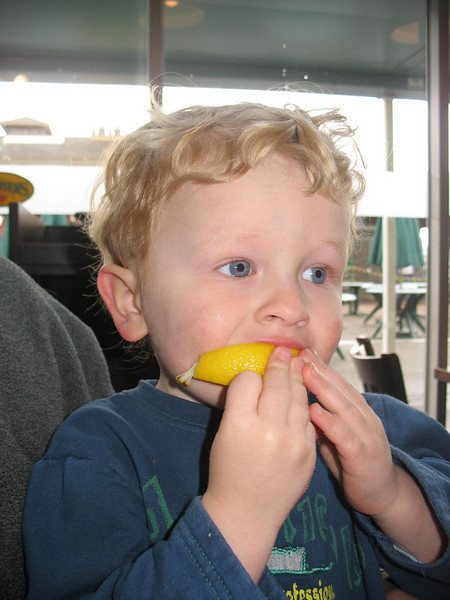 Hurra, eine Zitrone!