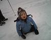 Tim steckt im Schnee