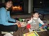 Trish spielt mit John