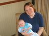 Baby Tim mit Mama