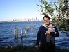 Skyline mit Papa