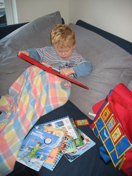 Timmy mit seinem Storyreader