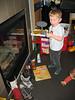 Der Nikolaus hat unsere Schuhe voll gemacht