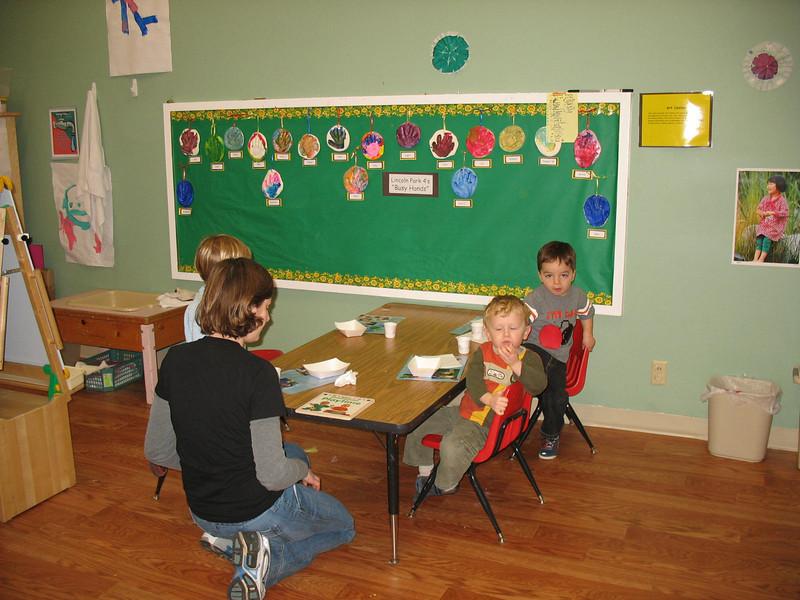 Snacktime in der Preschool