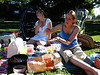 Im Park mit Mütter