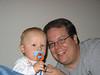 Timmy mit Papa