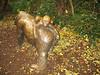 Bronze-Gorilla-Mutter