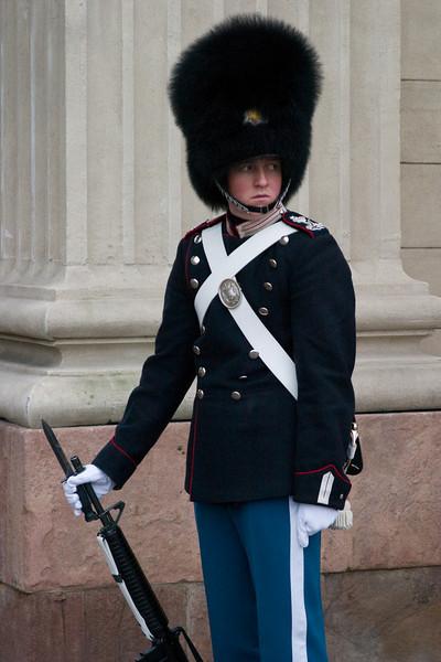 The Queen's Guard - Copenhagen, Denmark