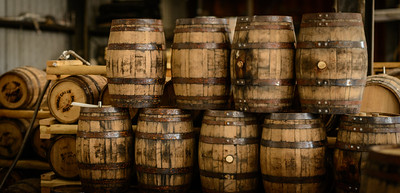Bourbon Barrels at Timber Creek