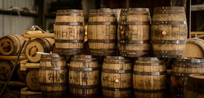 Bourbon Barrels at Timber Creek