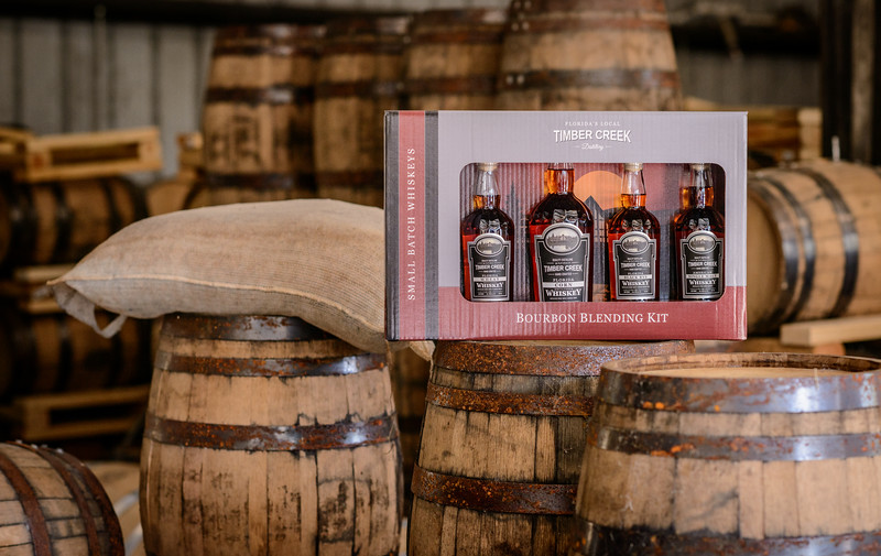 Bourbon Blending Kit from Timber Creek Distillery