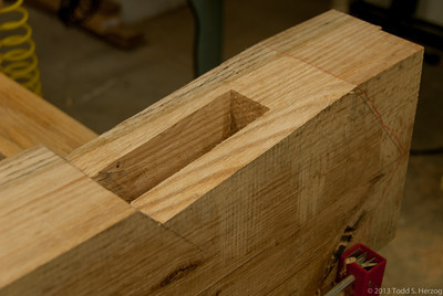 Kinf Post Rafter Housing