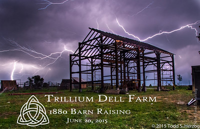 Trillium Solstice Barn Raising
