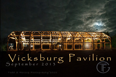 Vicksburg Pavilion post card