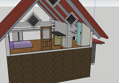 A prior design, but gives an idea of the loft configuration.