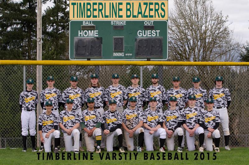 Timberline Varsity 2015