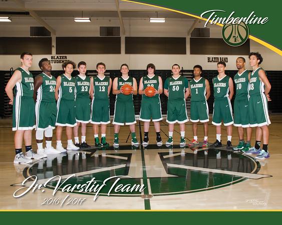 2016 Timberline JV team guys