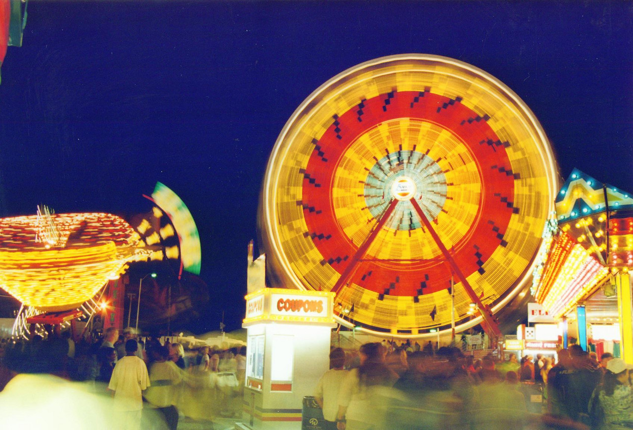 Indiana State Fair, August 2000.