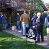 Eager buyers line-up at a Kansas City, Mo. estate sale. Photo made @ 08:49:13, 11.11.11.