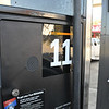 I filled up at pump #11, of course. Photo made @ 11:40:55, 11/11/11.