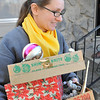 This buyer leaves with boxes of christmas ornaments at the 11.11.11 AM sale. Photo made @ 11:27:49, 11:11.11.