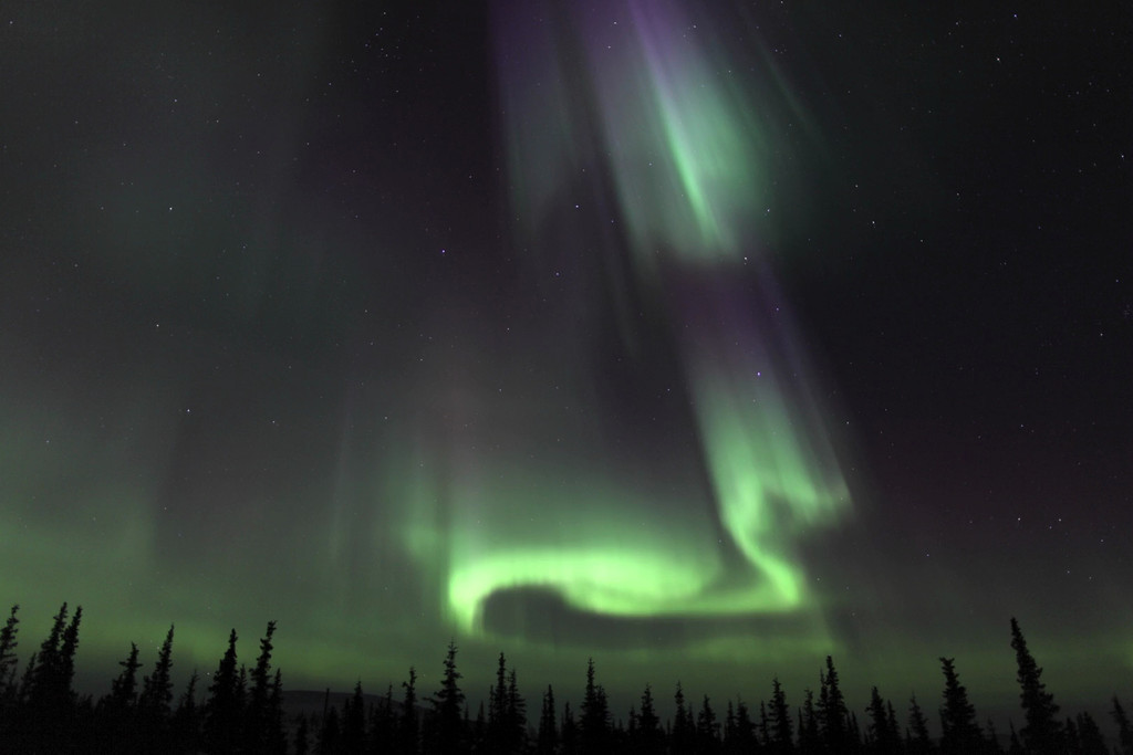 Aurora Time Lapse Clip: Northern Lights of March 16-17, 2013 - IV