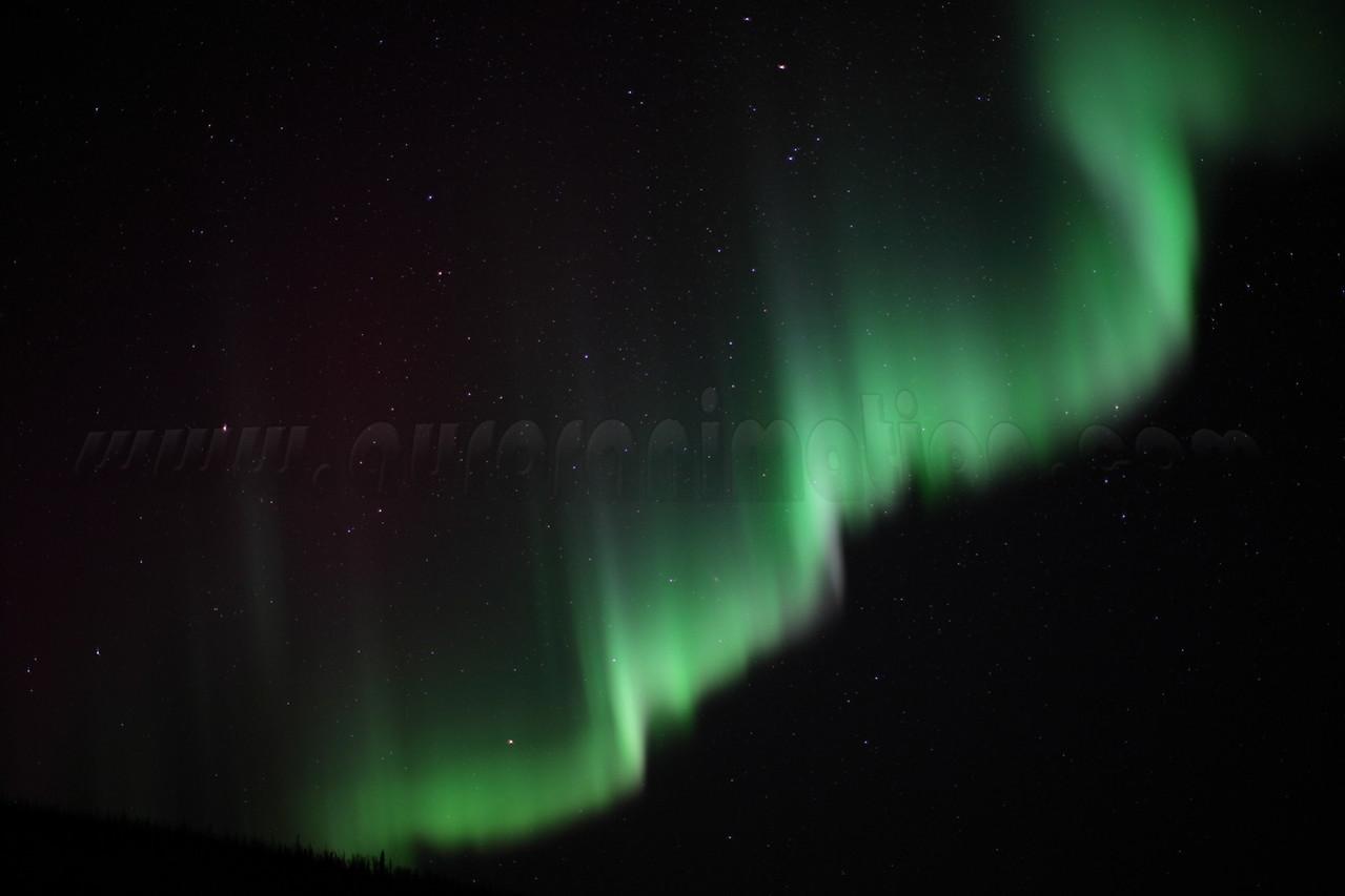 Northern Lights over the White Mountains, Alaska