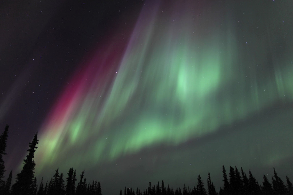 Aurora Time Lapse Clip: Northern Lights of March 16-17, 2013 - III