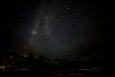 Ridgway Ranch Milky Way